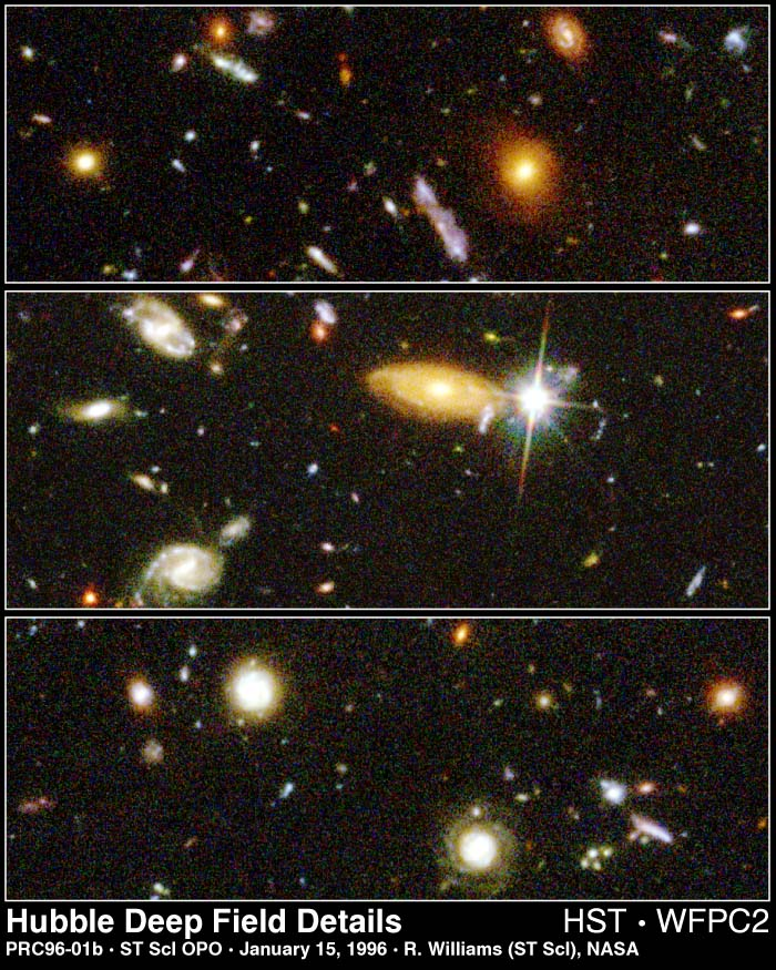 Hubble Deep Field - Telescope Observer