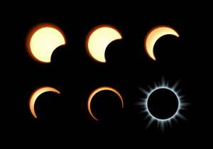 Stages of a Solar Eclipse